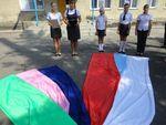 Торжественная линейка, посвященная 78 –годовщине образования Краснодарского края