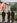 Торжественная линейка, посвященная вручению  копии Знамени Победы